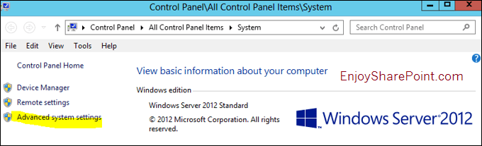 windows successfully diagnosed a low virtual memory condition server 2012 r2