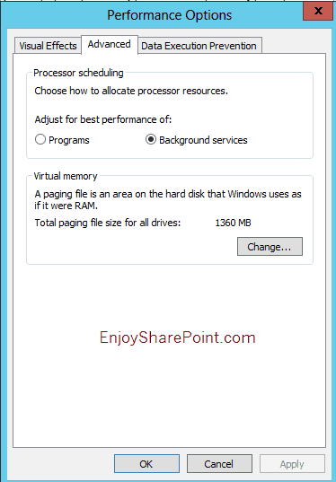 windows successfully diagnosed a low virtual memory condition event id 2004