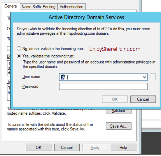 rdp fails to connect to trusted server 2012 r2