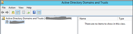 active directory domain trusts