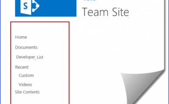 add quick launch in sharepoint 2013 rest api