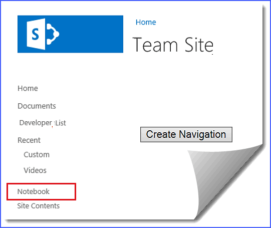 add quick launch in sharepoint online rest api