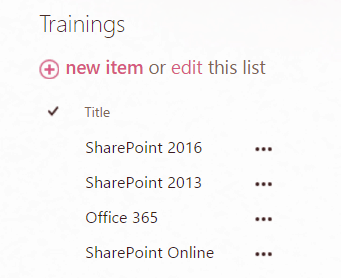 SharePoint 2013 jslink list view examples