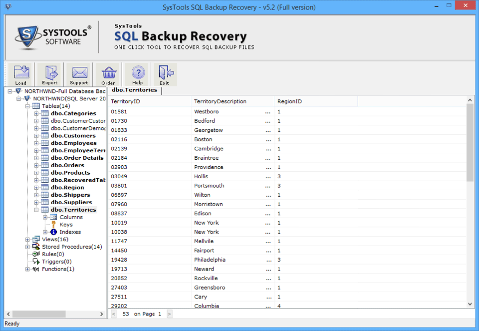 SQL BAK Recovery Tool To Repair Corrupt SQL Backup File