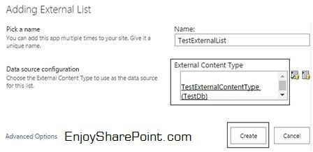create bdc model sharepoint 2013