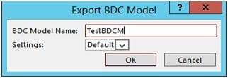bdc model sharepoint 2013 example