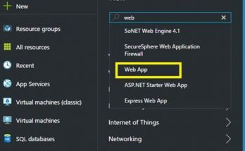 create azure webapps office 365