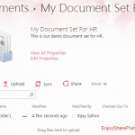 Add custom content to document sets sharepoint 2013