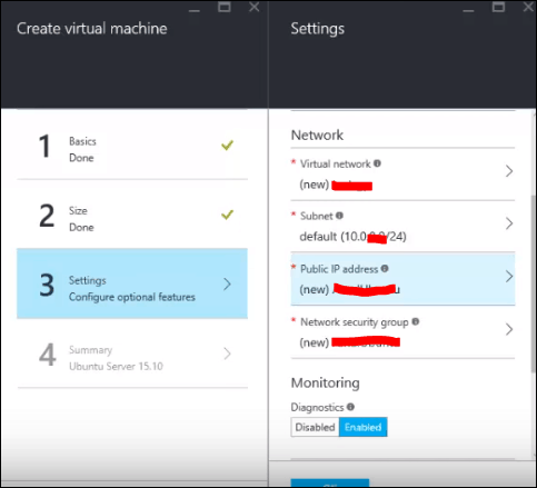 create a linux virtual machine in azure with powershell