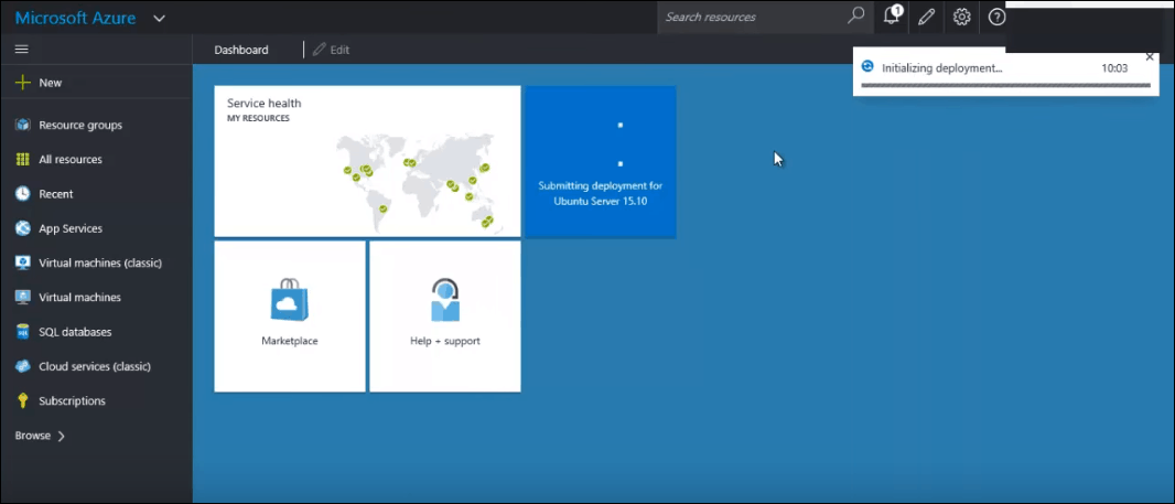 how to create linux vm in azure