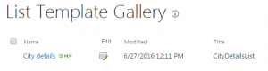 save list as template sharepoint 2013