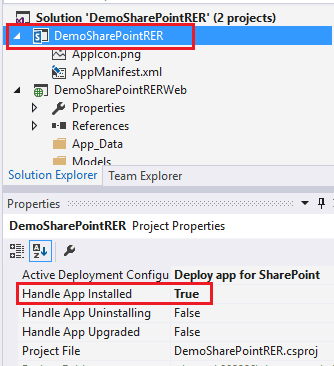 remote event receiver in sharepoint online