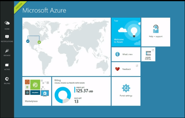 create sql database in windows azure