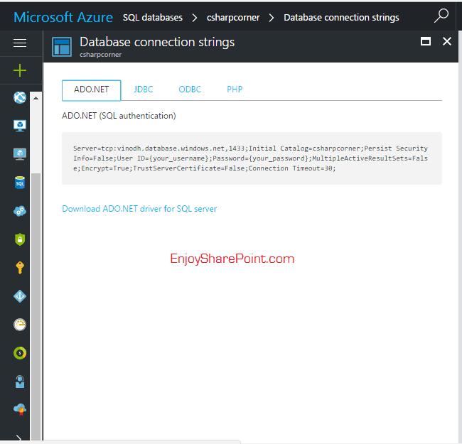 create configure SQl server microsoft azure 5