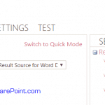 custom result source to show only word or pdf document sharepoint 2013