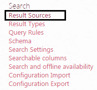 result sources sharepoint 2013