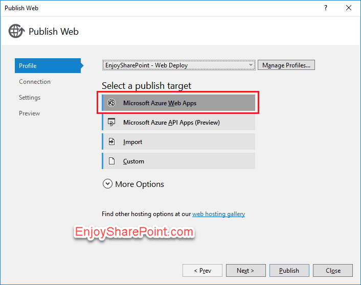 provider hosted app in sharepoint 2016