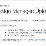 design manager sharepoint online