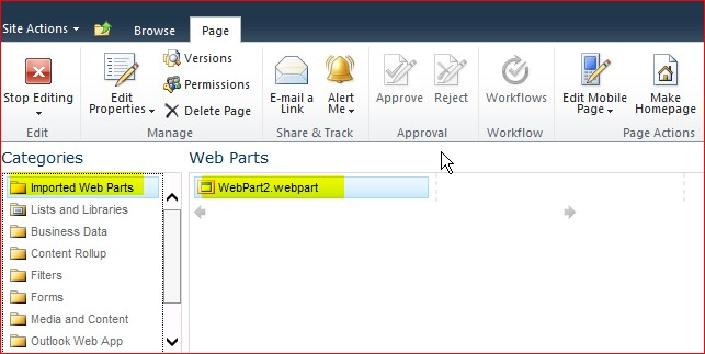 display a list or library from sharepoint 2010 subsite to the top level site