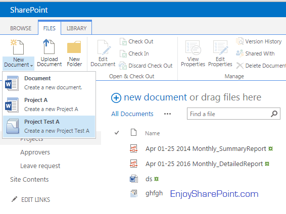 document sets sharepoint 2016 tutorial