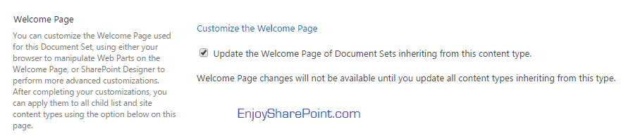 document sets in sharepoint 2013