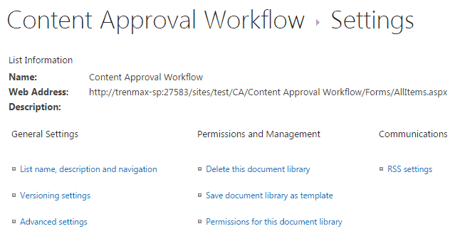 Content Approval in SharePoint 2013 document library