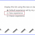 sharepoint online document library new experience