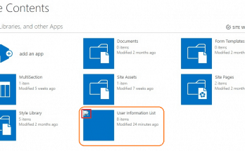 enable user information list sharepoint