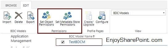 bdc business data connectivity model sharepoint 2013