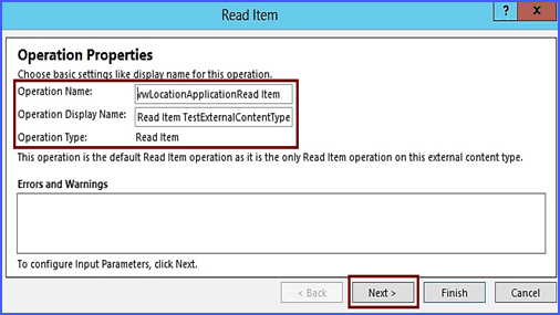 how to create external content type in sharepoint 2013