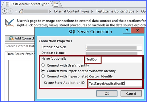sharepoint 2013 external content type