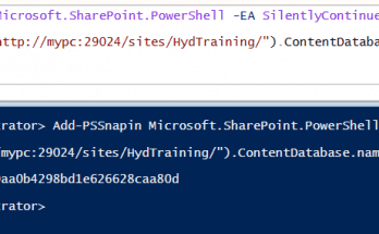 How to know which content database a site collection is using in SharePoint 2016 or SharePoint 2019?