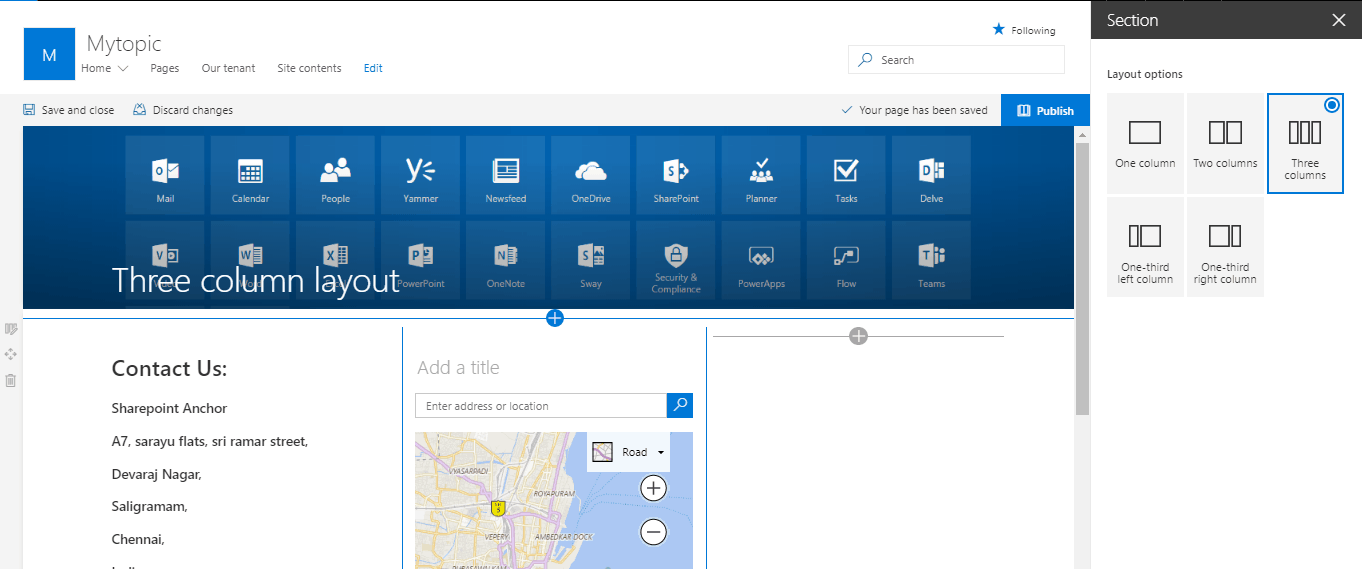 how create communication site sharepoint 2016