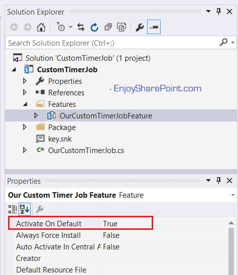 Create A Timer Job In Sharepoint 2013 Programmatically Using Server-Side Object Model