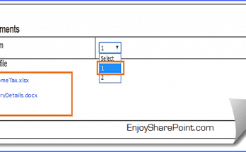 delete attachment sharepoint list item