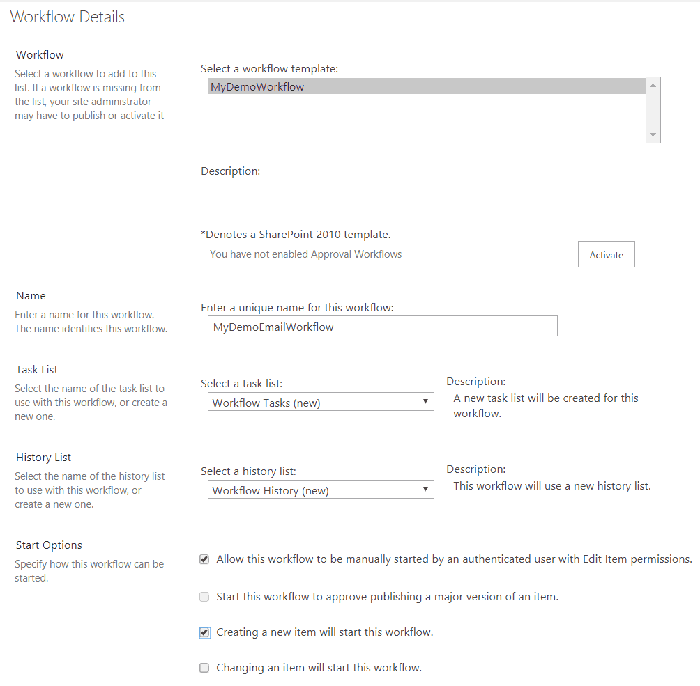 send email using visual studio workflow in sharepoint hosted add-in
