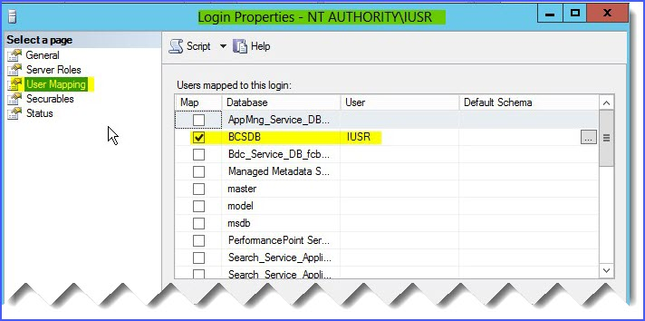 requested by the login the login failed login failed for user nt authority iusr