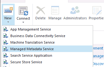 Managed metadata service in SharePoint 2013