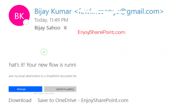 microsoft flow office 365