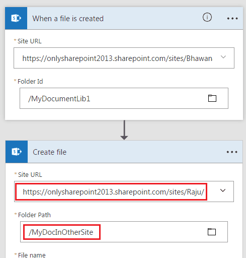 microsoft flow copy folder sharepoint