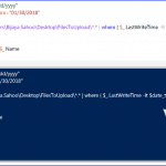 How to find files modified before certain date from folder in PowerShell