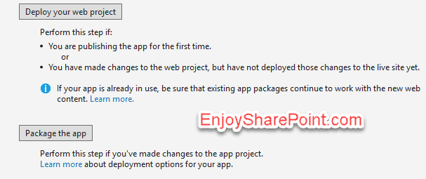 visual studio 2015 create provider hosted add in sharepoint