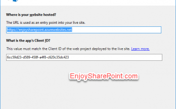 sharepoint online provider hosted add-in