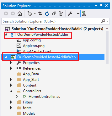 sharepoint provider hosted app example