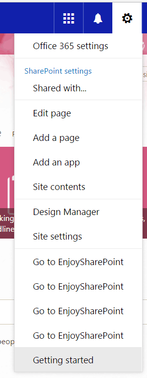 Remove User Custom Actions (Site Actions Menu) Programmatically using JSOM in SharePoint Online