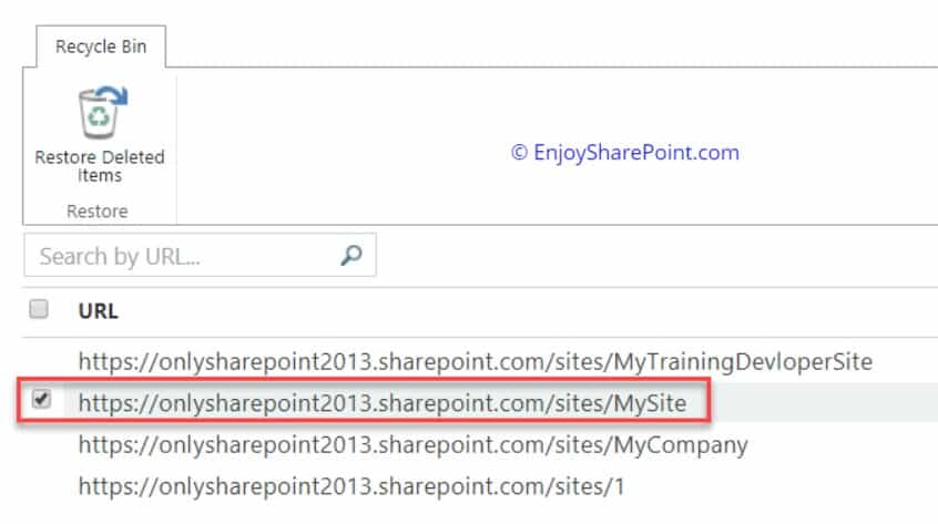 Delete Site Collection using PowerShell in SharePoint Online