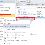 How to set different master page SharePoint 2013