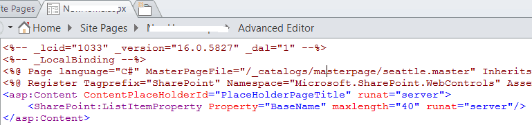 set different master page to sharepoint 2016 site