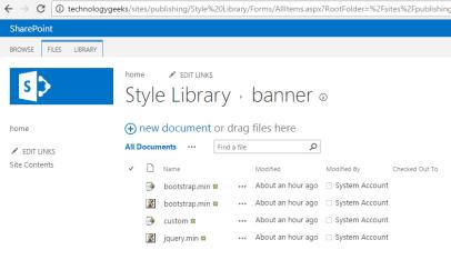sharepoint 2013 bootstrap menu 1