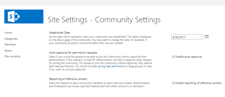 sharepoint 2013 community site tutorial 7